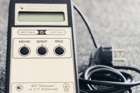 Реєстратор якості електроенергії РЕ-01