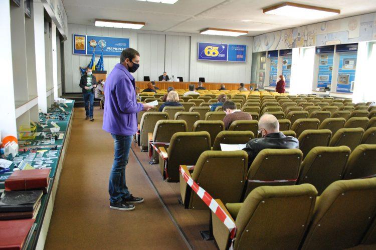 Відбулись загальні збори акціонерів ВАТ «Меридіан» ім.С.П.Корольова